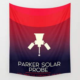 Parker Solar Probe Exploration of the corona of the sun. Wall Tapestry