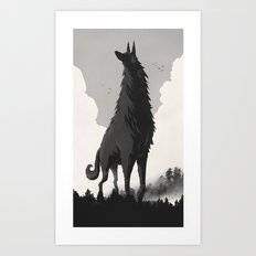 Walking Tall Art Print