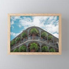Bourbon St Framed Mini Art Print