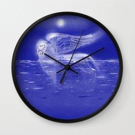 Venetian Lion - Flood in Venice Italy climate Wall Clock