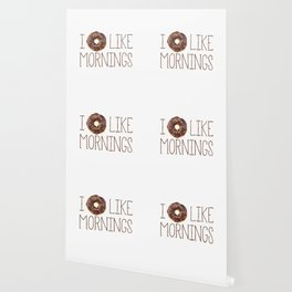 I Donut Like Mornings Wallpaper