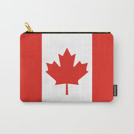 Red and White Canadian Flag Carry-All Pouch