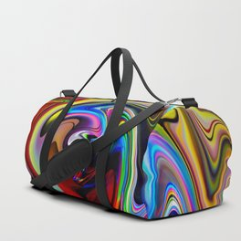 Abstract - Perfection 100 Duffle Bag