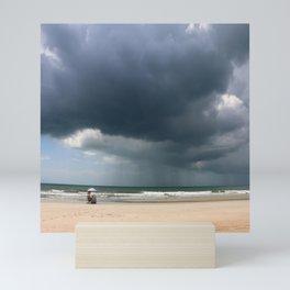 A Peaceful Day At The Seaside Mini Art Print