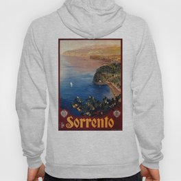 Italy Sorrento Bay of Naples vintage Italian travel Hoody