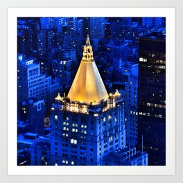 New York Life Building Art Print