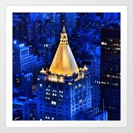 New York Life Building Art Print