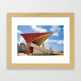 Sports Complex, Havana, Cuba Framed Art Print