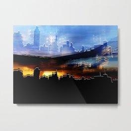 Metropolis Metal Print