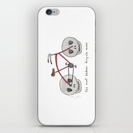the most badass bicycle ever iPhone Skin