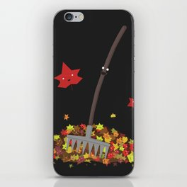 Best Friends: Rake and his Leafy Pals iPhone Skin