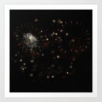 Firework 0689 Art Print