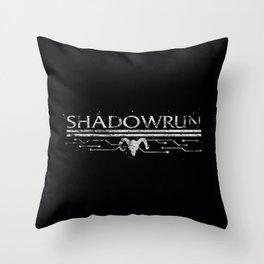 Shadowrun Throw Pillow