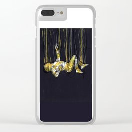 free fall of the lonely man Clear iPhone Case