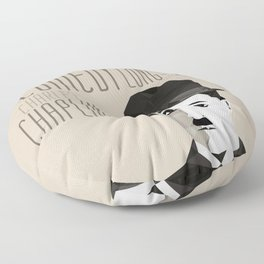 Chaplin Scomposition Floor Pillow