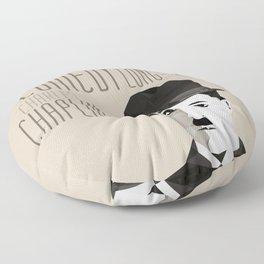 Chaplin Scomposition Floor Pillow