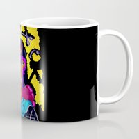 magneto Mugs featuring Ms. Magneto by N3RDS+INK