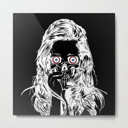 The Woman Inside Metal Print