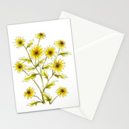 Yellow black eyed Susans painting Stationery Cards