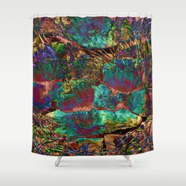 Desert Impressions 3 Shower Curtain