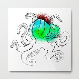 Cactopus Metal Print