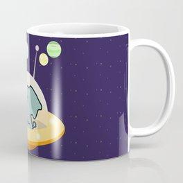 Astronaut elephant: Galaxy mission Coffee Mug