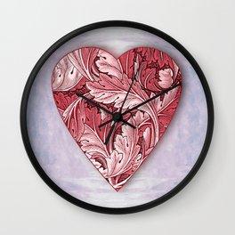 Full Heart Wall Clock