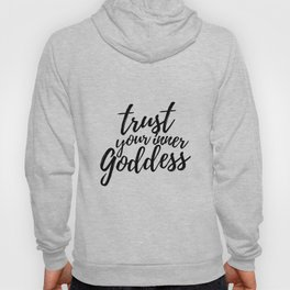 Trust Your Inner Goddess (Light) Hoody