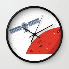 Mars Exploration 2 Wall Clock