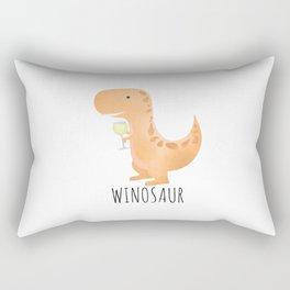 Winosaur | White Wine Rectangular Pillow