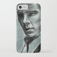 benedict iPhone & iPod Cases featuring Benedict Cumberbatch by Schwebewesen • Romina Lutz