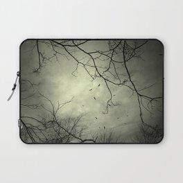 Spooky Kettle of Turkey Vultures Laptop Sleeve