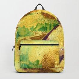 The Gioconda Mashup Backpack
