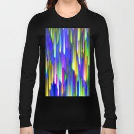 Colorful digital art splashing G394 Long Sleeve T-shirt