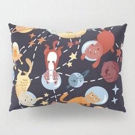 Catstronauts - retro catastronaut pattern Pillow Sham