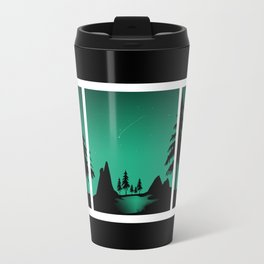 The sheep and the wolf in the woods Travel Mug