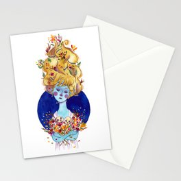 The Cold Winter Stationery Cards