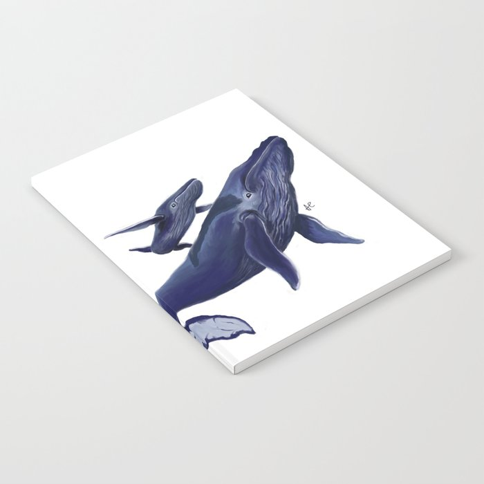 Whale whale whale Notebook