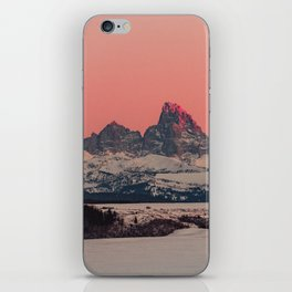 SUNSET AT THE GRAND TETONS iPhone Skin