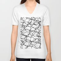 random V-neck T-shirts featuring Random by Cr7izbest