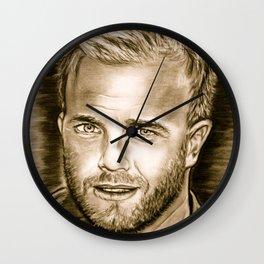 Gary Barlow Wall Clock