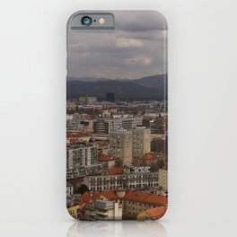 Over The Rooftops of Ljubljana iPhone Case