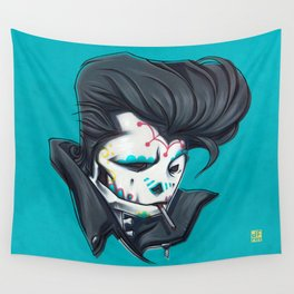 SLICK paint Wall Tapestry