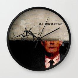 Twin Peaks | Is It Future or is It Past Wall Clock