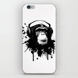 Monkey Business - White iPhone Skin