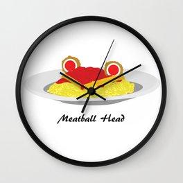 Sailor moon meatball head Wall Clock