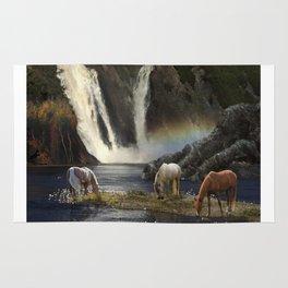 Waterfall Fantasy Herd Rug