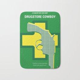 No628 My Drugstore Cowboy minimal movie poster Bath Mat