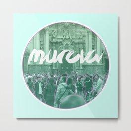 Murcia is color Metal Print