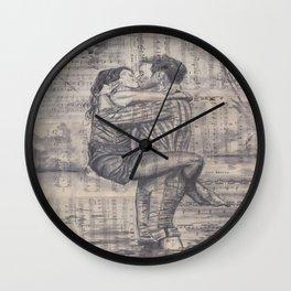 Till We Meet Again Wall Clock